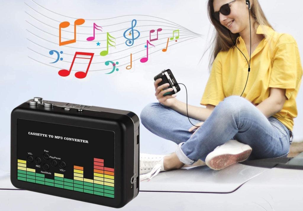 Los mejores gadgets para convertir las grabaciones de tus cassettes a MP3