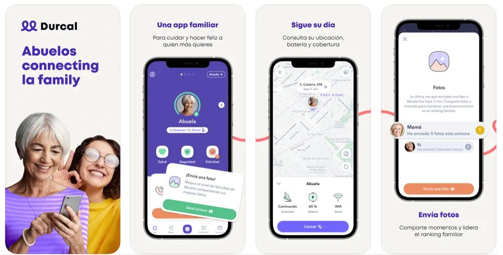 Safe365 se transforma en Durcal para permitir a los mayores comunicarse con sus seres queridos