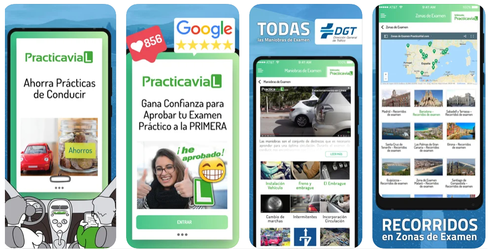 Esta app te permite anticiparte a los recorridos del examen práctico de conducir en tu ciudad