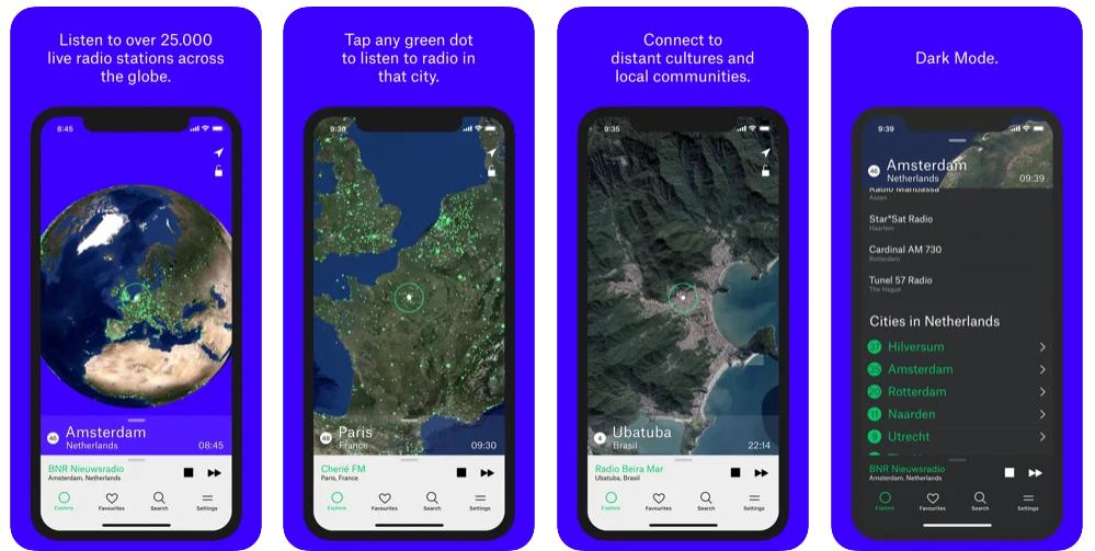 Radio Garden, el Google Earth de las emisoras de radio