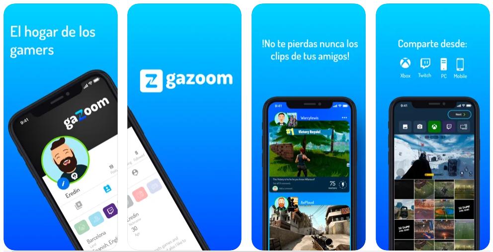 Gazoom, la startup que guarda las mejores jugadas, obtiene 400.000 euros de financiación