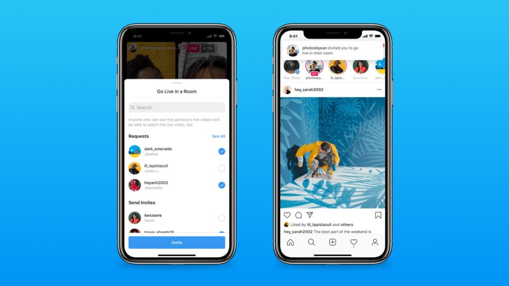 Instagram presenta Live Rooms, una función para hacer directos con hasta cuatro personas