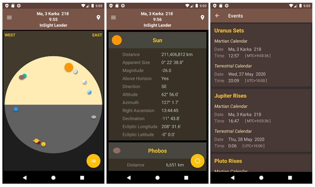 Los mejores juegos y apps sobre Marte