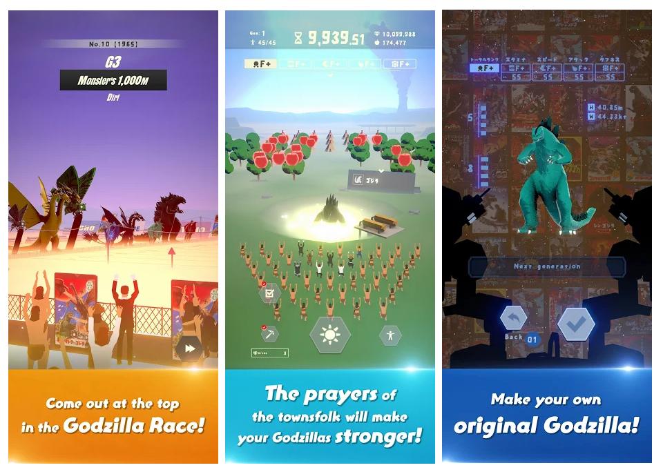 Godzilla ya cabe en tu smartphone gracias a tres juegos móviles
