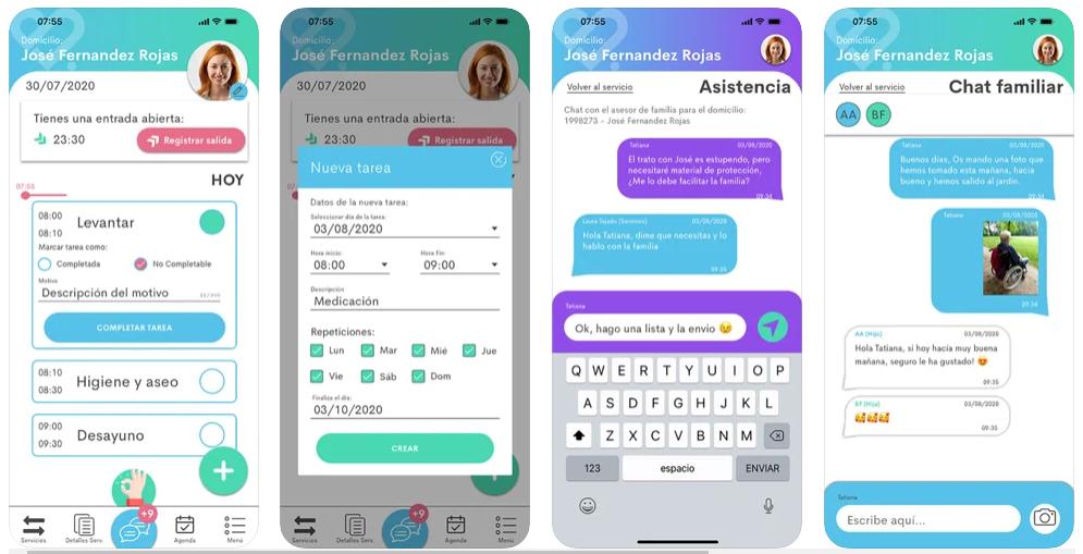 Senniors, una app para cuidar la salud y la calidad de vida de los mayores de la familia