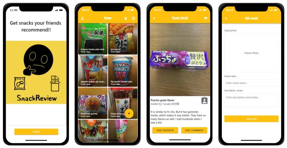 SnackReview, la app para publicar y leer reseñas sobre aperitivos, chuches y otras guarrerías