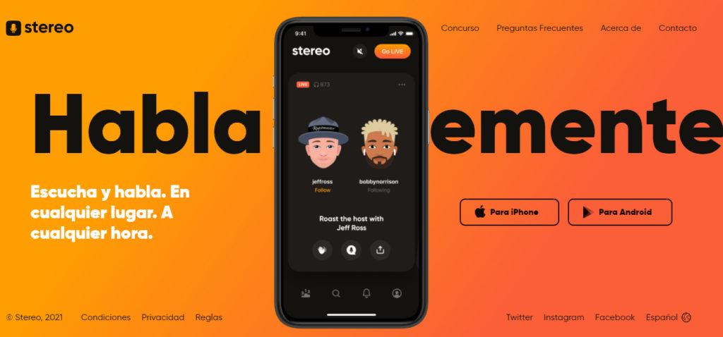"""Stereo: """"Si creamos una plataforma elitista, no estaríamos siendo inclusivos. Stereo es por y para todos"""""""
