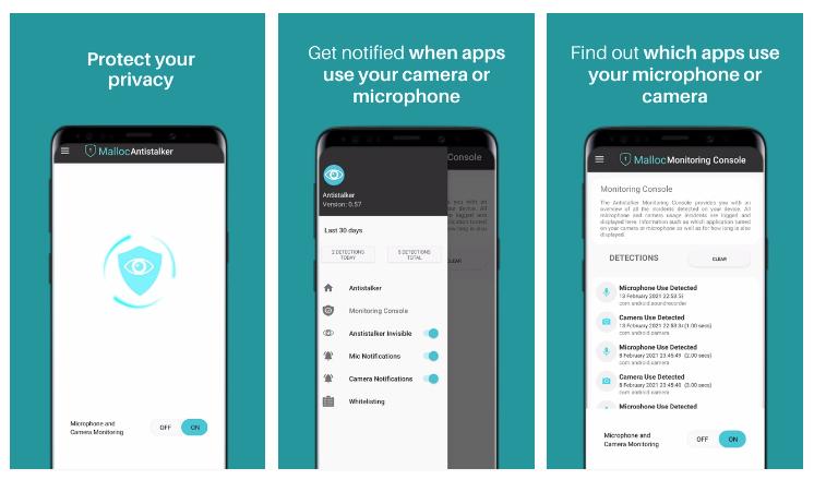 Antistalker te alerta si alguna app o intruso está usando la cámara o micrófono de tu teléfono