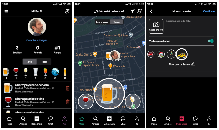 Beer Buddy, la red social para saber cuándo, dónde y qué beben tus amigos