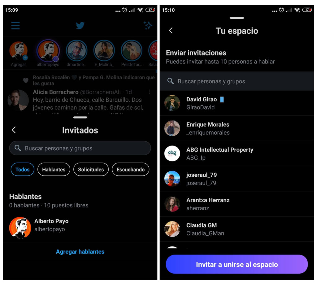 Twitter Spaces ya está disponible en España