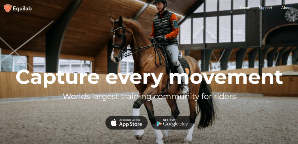 Equilab, el Strava de los que montan a caballo