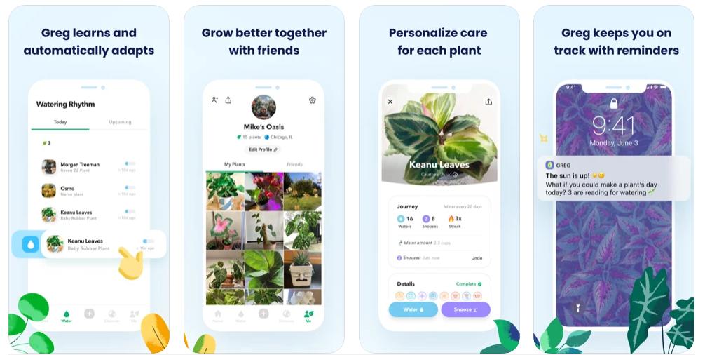 Greg, la app con la que nunca más se te morirán las plantas