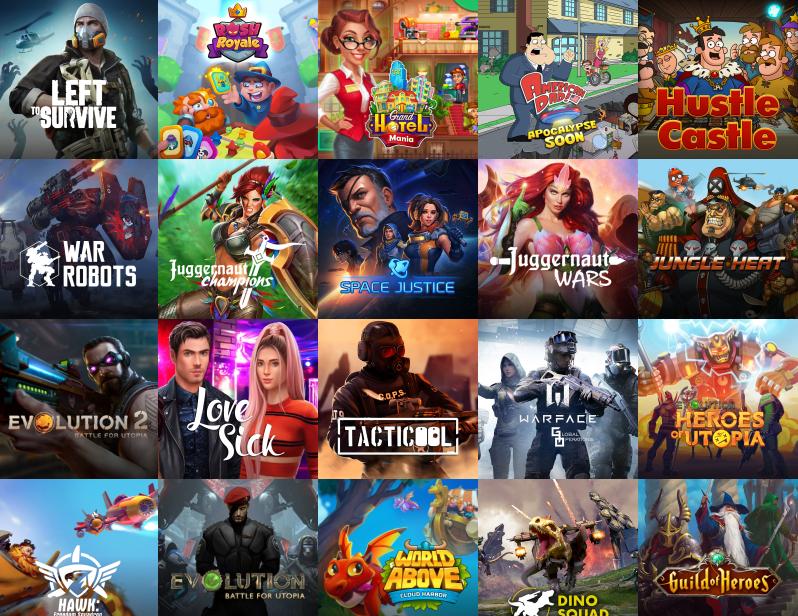 Los juegos móviles impulsan el crecimiento de My.Games