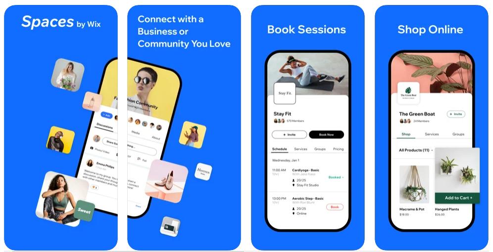 Wix lanza Spaces by Wix, una app para que los propietarios de negocios interactúen mejor con sus clientes