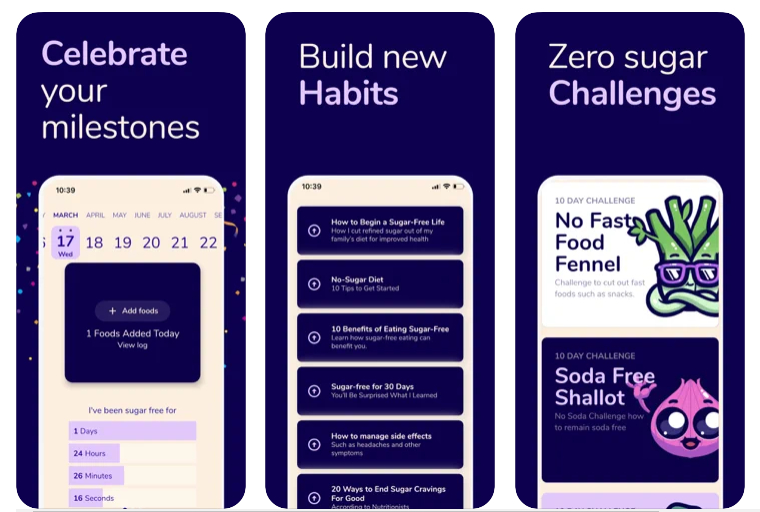 Esta app te ayuda a reducir tu consumo de azúcar fácilmente
