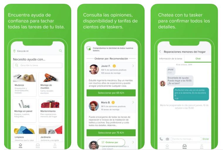 """TaskRabbit: """"Nuestros manitas fijan sus propias tarifas por hora y se llevan el 100% de su tarifa"""""""