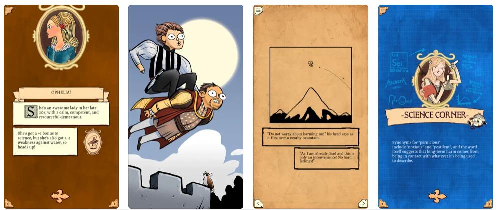 Las mejores apps y juegos para honrar a William Shakespeare