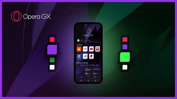 Opera presenta Opera GX Mobile, el primer navegador móvil diseñado para gamers