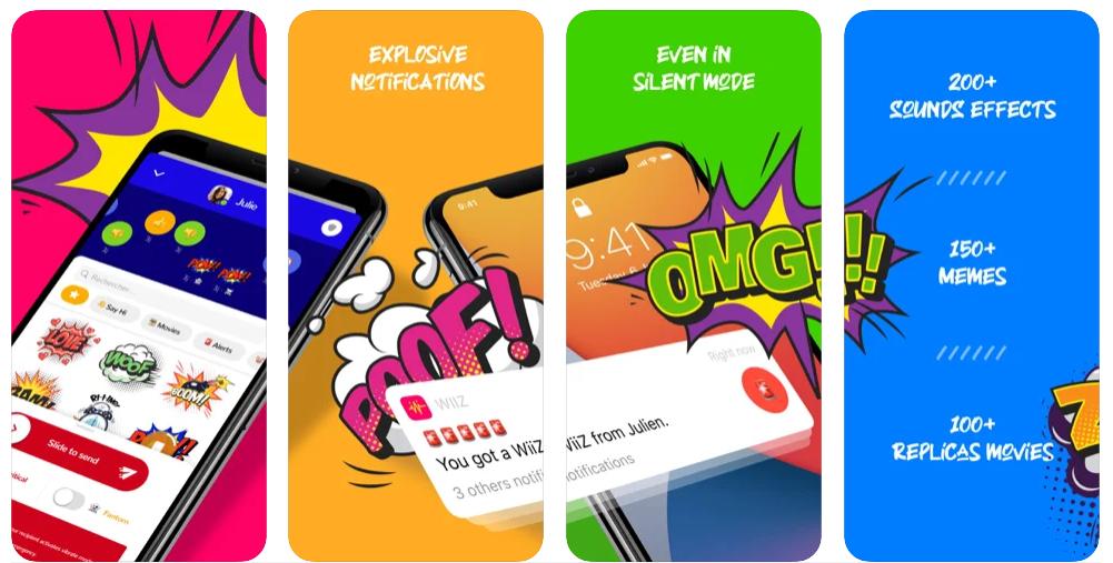 WiiZ, una app que convierte las notificaciones del móvil en explosivas