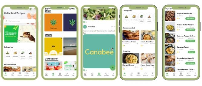 Esta app te propone recetas de todo tipo para que cocines con cannabis