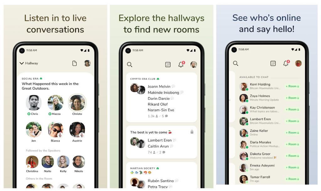 Clubhouse lanza su esperada versión para Android