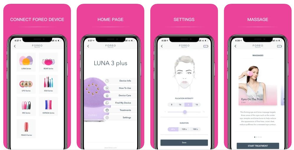 Foreo actualiza su aplicación móvil con mayor personalización e información sobre todos los dispositivos