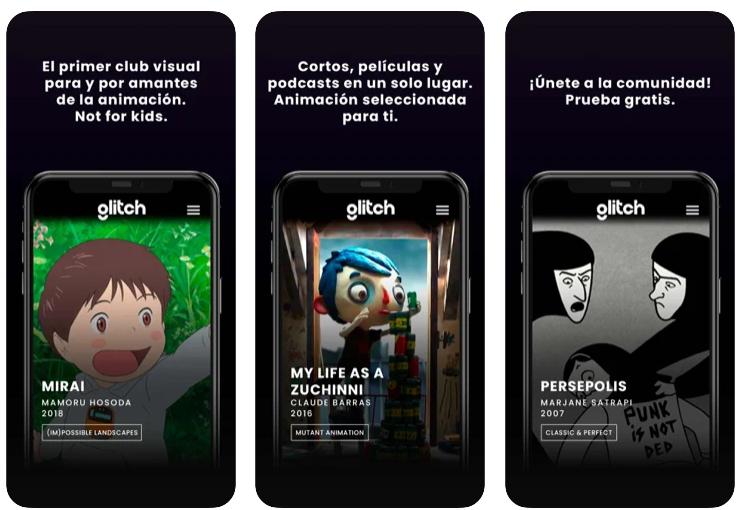 Glitch, el punto de encuentro para los amantes de la animación