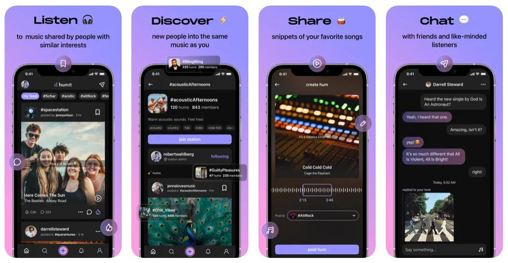Humit, una nueva red social basada en la música y en las canciones que han marcado tu vida