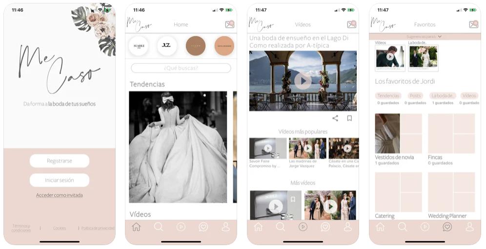Me Caso App, la nueva aplicación que te permite encontrar ideas para organizar tu boda