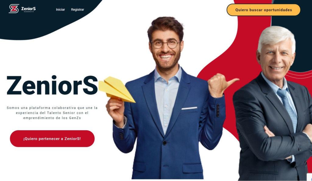ZeniorS, la plataforma que sirve de puente entre jóvenes emprendedores y el talento senior
