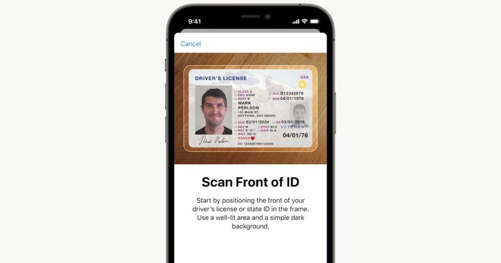 Apple actualiza su app Wallet para almacenar documentos oficiales