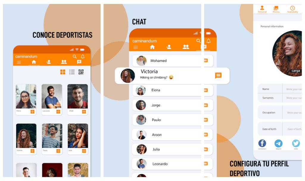 Nace caminandum, una red social para encontrar compañeros con los que hacer deporte al aire libre