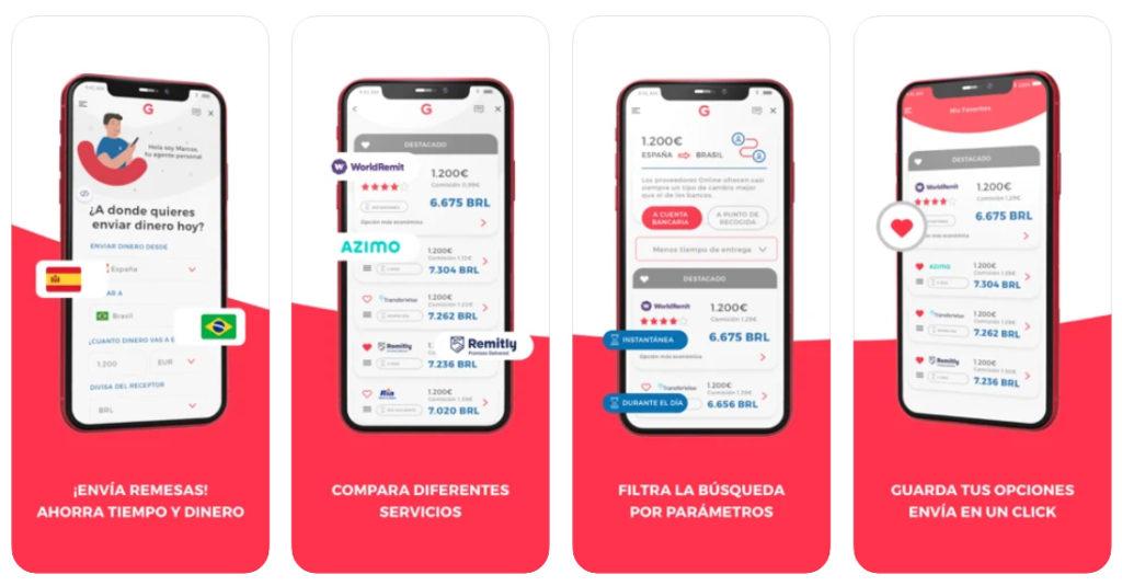 Nace Gelt Giro, una app para comparar servicios de envío de dinero en tiempo real