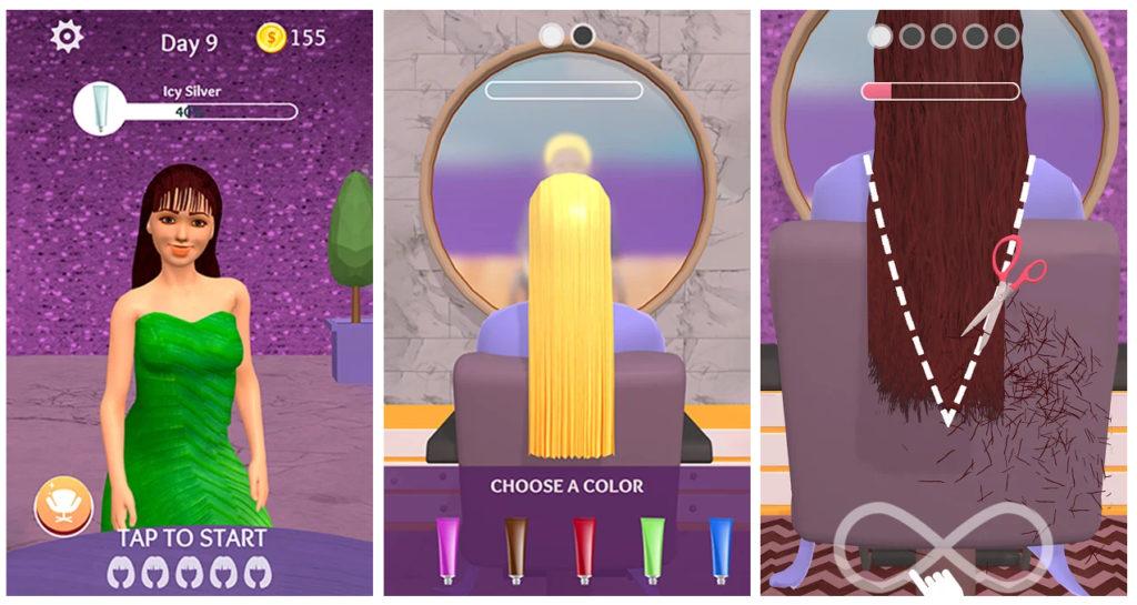 Hair Dye, el juego donde tienes que sacar adelante tu propia peluquería que triunfa en Google Play