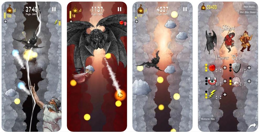 Luci´s Fall, el curioso juego para iOS y Android dedicado al Ángel Caído