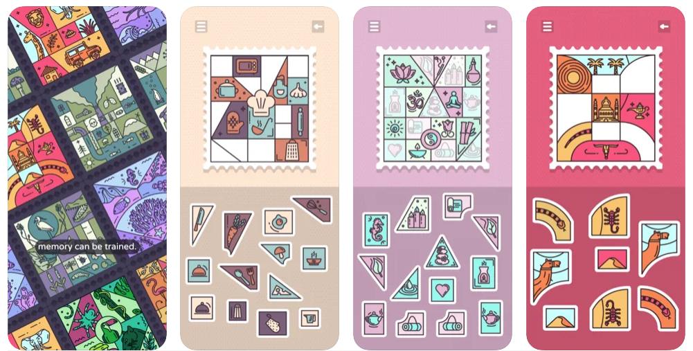 Juegos de memoria y sellos se aúnan en Memory Stamps, ya disponible para iOS y Android