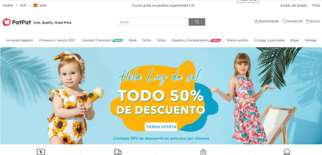 PatPat, la tienda móvil con la ropa para niños más barata