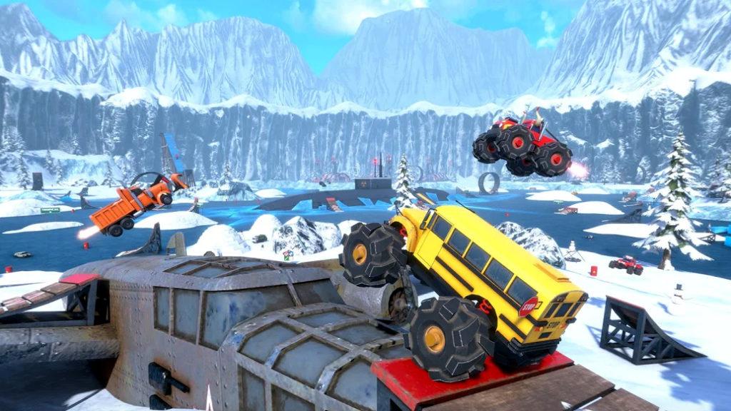 Los autos locos de Crash Drive 3 llegan a iOS y Android