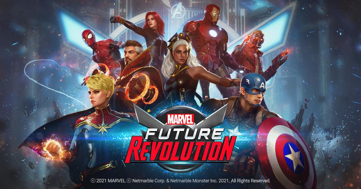 Nuevos trailers y documental de Marvel Future Revolution