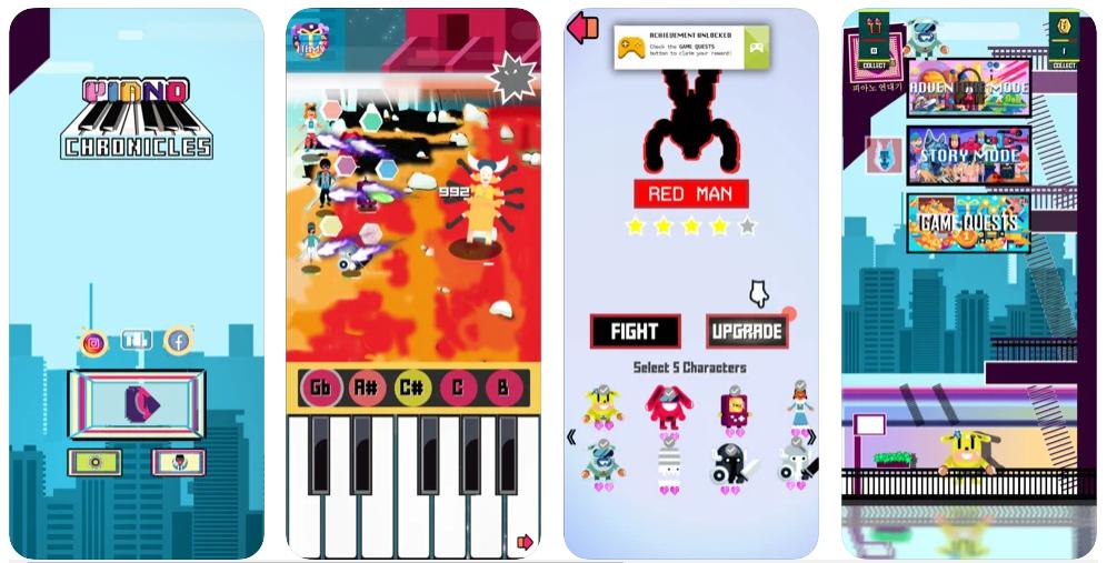 Piano Chronicles, un original juego para aprender a tocar el piano