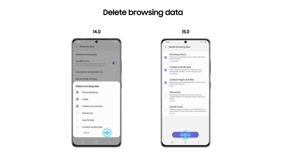 Samsung anuncia la versión beta de su navegador móvil Samsung Internet 15.0