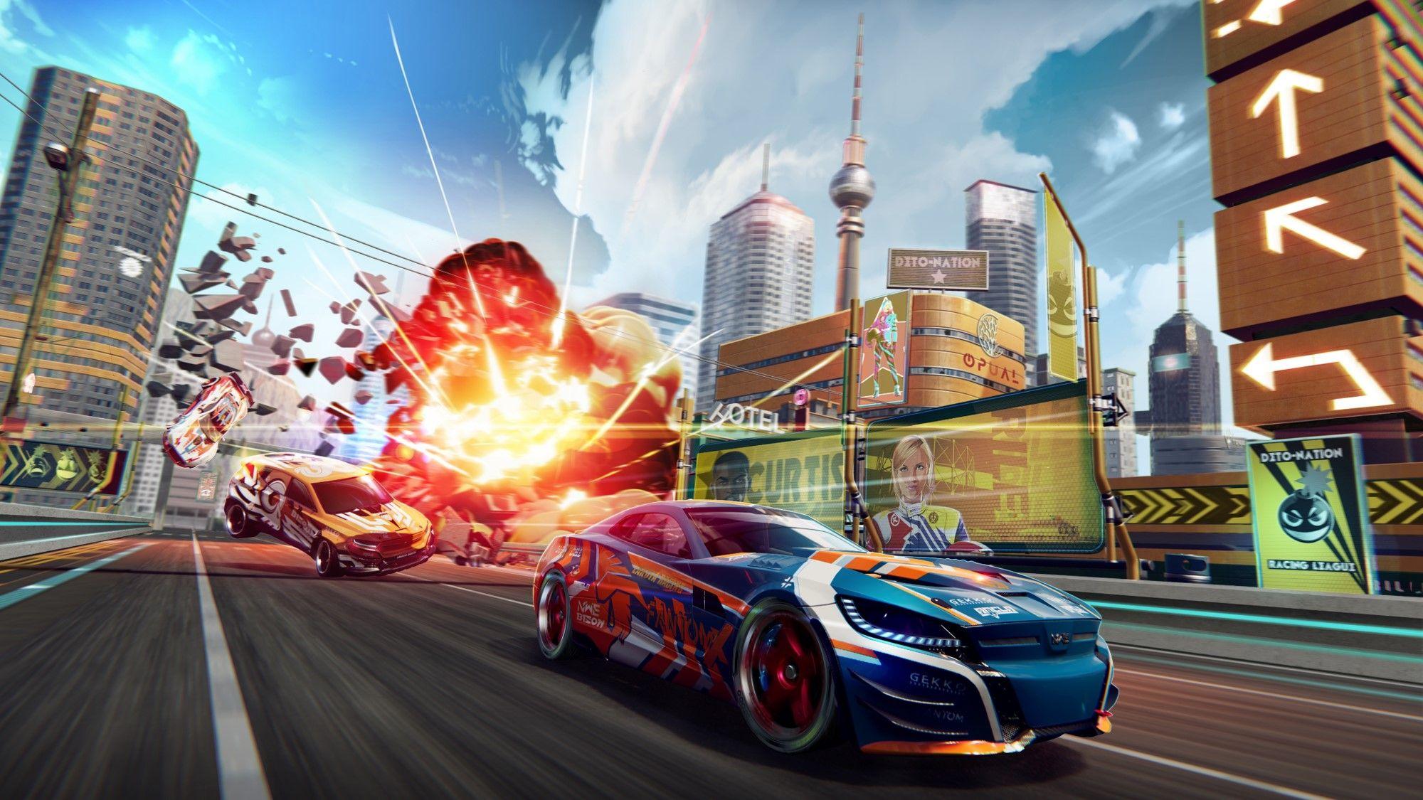 El juego de carreras extremo Detonation Racing llega a la App Store