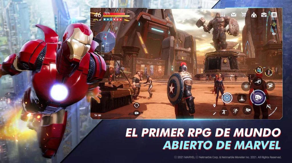 Marvel Future Revolution ya está disponible para iOS y Android