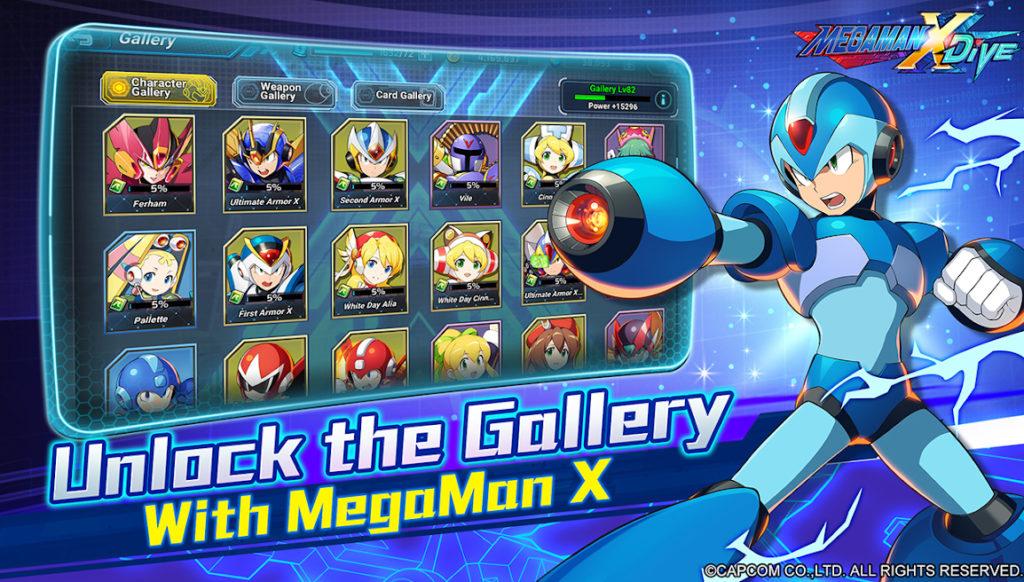 Mega Man X DiVE aterriza en los dispositivos Android