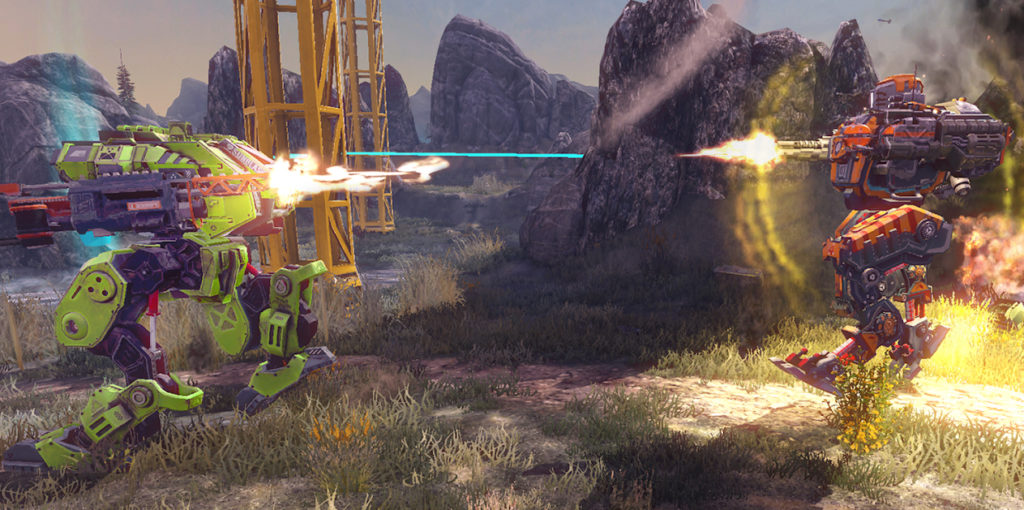 Titan Glory, un juego para combatir con mechas que se estrena para iOS y Android