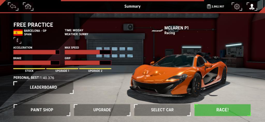El juego de carreras Assetto Corsa Mobile ya está disponible en la App Store