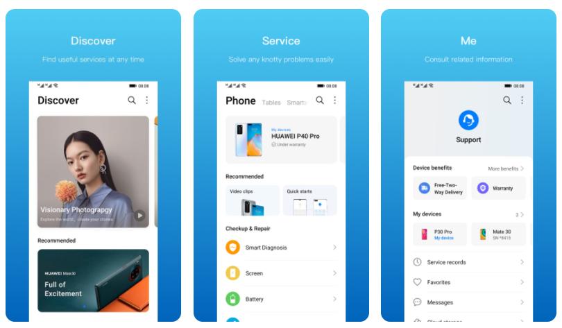 Huawei lanza My Huawei App, una aplicación para atender mejor a sus clientes