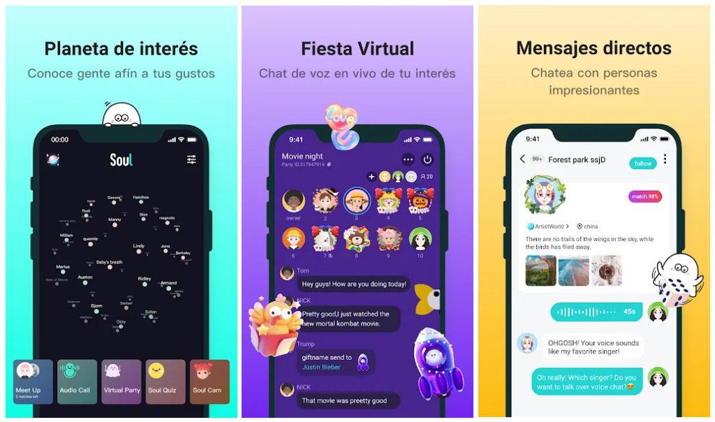 Soul, un metaverso para interactuar con usuarios de todo el mundo mediante distintas vías