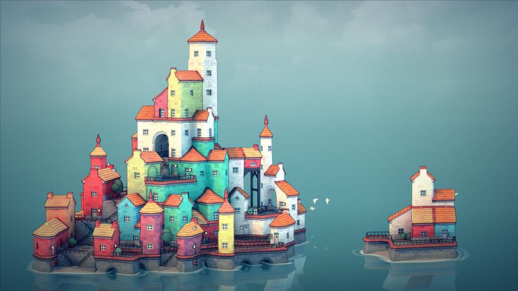 El juego para construir ciudades Townscaper se estrenará en Android en octubre