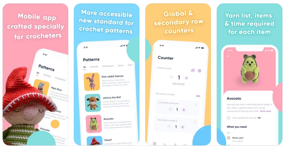 Crochet, la app que te permite aprender a hacer ganchillo fácilmente